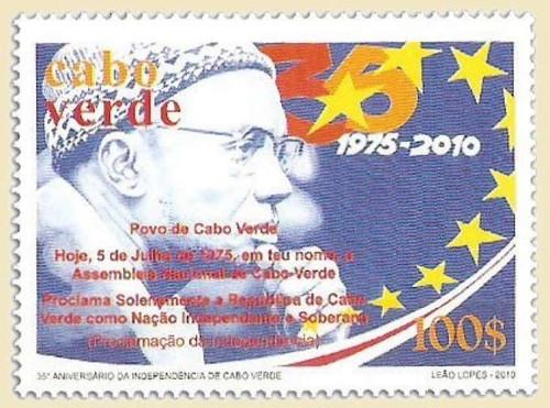 Cape Verde - Independence on Stamps - Mint Stamp MNH - 3J-007