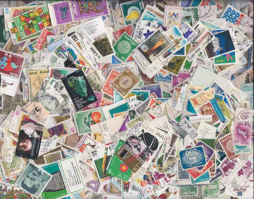 Quality Israel Stamp Collection - 1,000 Different Stamps