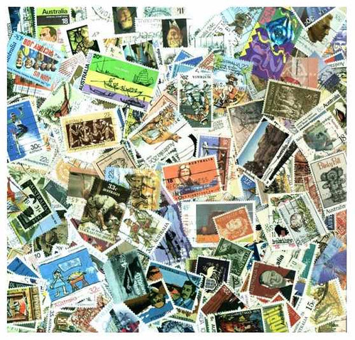 Australia Collection - 1000 Different Stamps