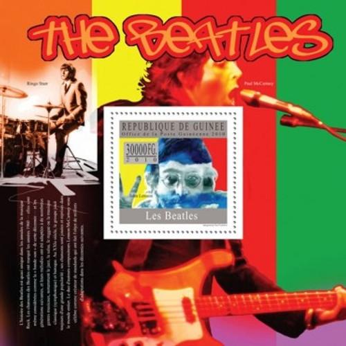Guinea - The Beatles - Mint Stamp Souvenir Sheet - 7B-1251