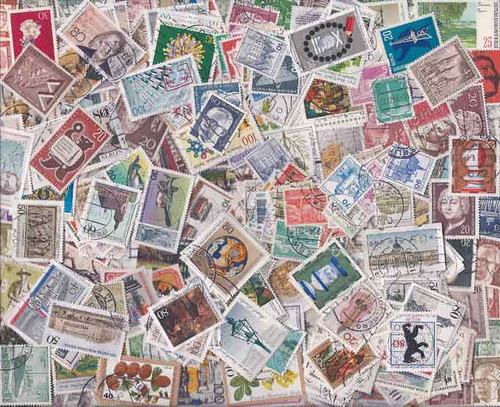 Germany - Berlin Stamp Collection - 300 Different Stamps
