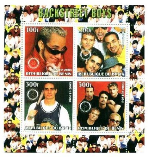 Backstreet Boys On Stamps