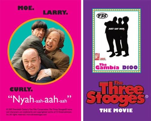 "Gambia - ""The Three Stooges"" Movie - Souvenir Sheet GAM1206S"