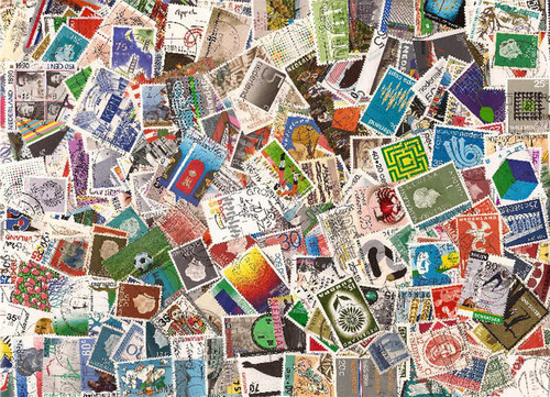 Netherlands Stamp Collection - 600 Different Stamps