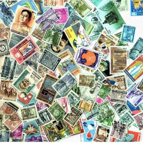 Bangladesh Stamp Collection - 100 Different Stamps