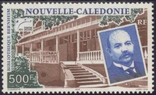 New Caledonia - 2000 Bernheim Library Centenary Stamp MNH #857 14L-002