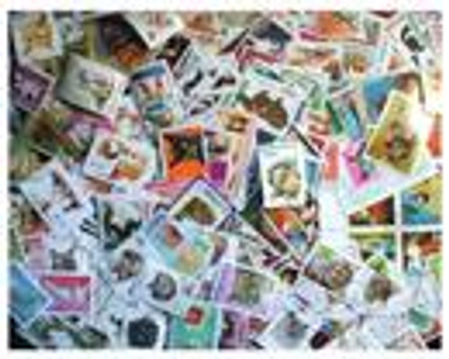 Cats on Stamps Collection - 300 Different Stamps