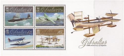 Gibraltar Wholesale - 2010 Aviation Centenary 10 Sets Scott #1243