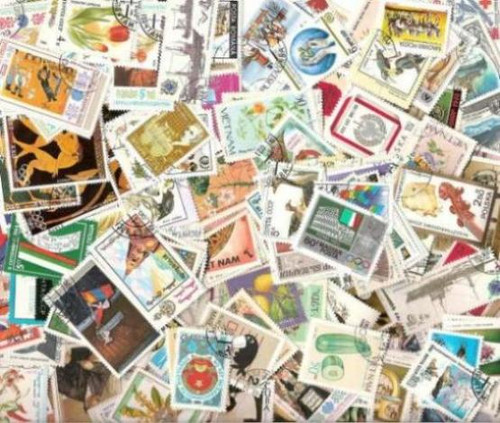 Worldwide Collection - 1,000 Different Large Pictorial, Topical Stamps