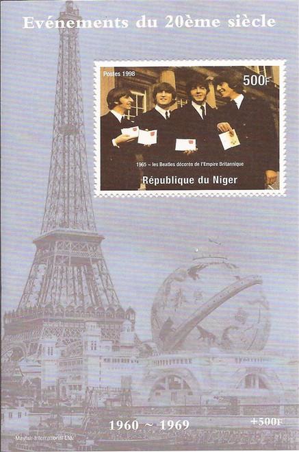 Niger - 1998 The Beatles - Mint Stamp Souvenir Sheet - 14A-004