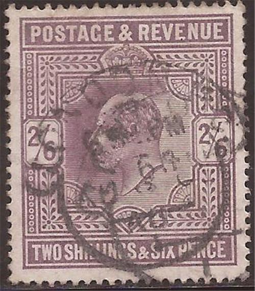 Great Britain - 1902 2sh6p King Edward VII - F/VF Used - Scott #139