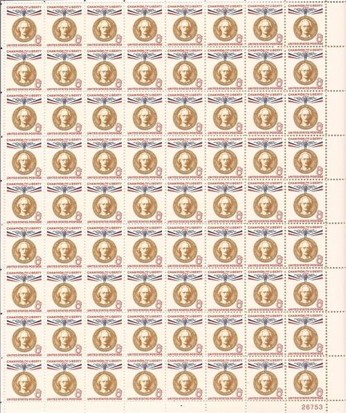 US Stamp - 1960 8c Ignacy Jan Paderewski - 72 Stamp Sheet #1160