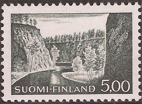 Finland - 1984 5m Ristikallio in Kuusamo - F/VF MNH - Scott #415