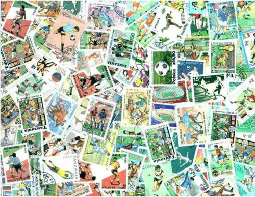 Football (Soccer) Collection - 200 Different Stamps