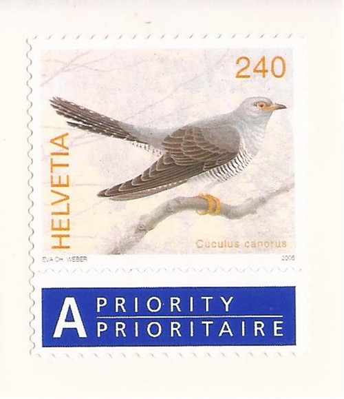 Switzerland - 2006 Bird Stamp - Scott #1230