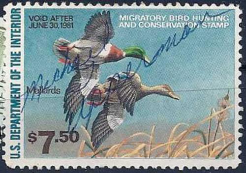 US Stamp - 1980 Duck Stamp Mallards MNH Scott #RW47