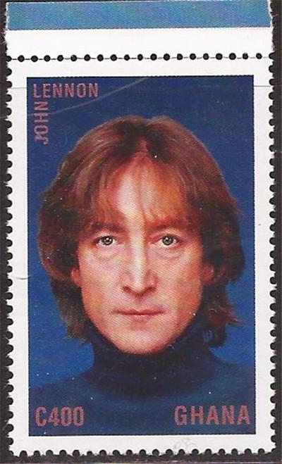 Ghana - 1995 Beatle John Lennon - Stamp - Scott #1851