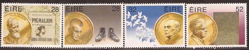 Ireland - 1994 Nobel Price Winners - 4 Stamp Set MNH - Scott #944-7