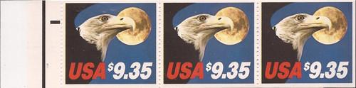 US Stamp - 1963 $9.35 Eagle Express - Booklet of 3 Stamps #BK140B