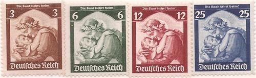 Withdrew 03-15-19-Germany - 1935 Saar Return - 4 Stamp Set -  -   #448-51