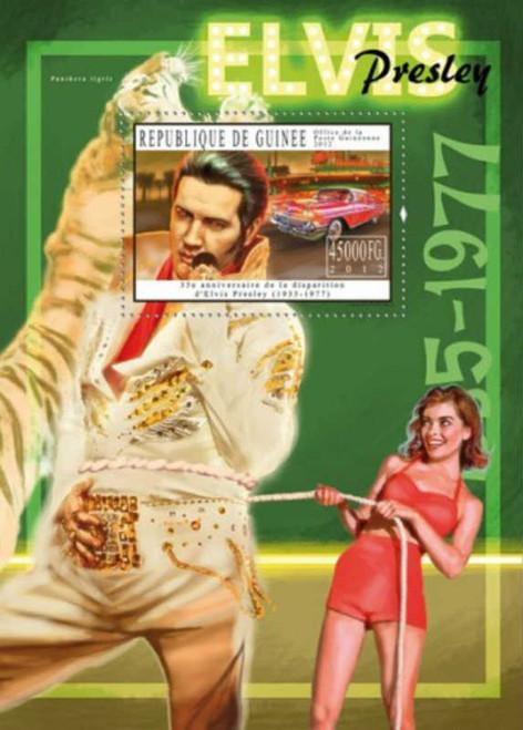 Guinea 2012 Elvis Presley Stamp Souvenir Sheet Michel #9126 7B-1768