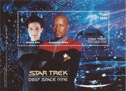 Guyana - 2015 Star Trek Deep Space Nine - Souvenir Sheet - 7C-024