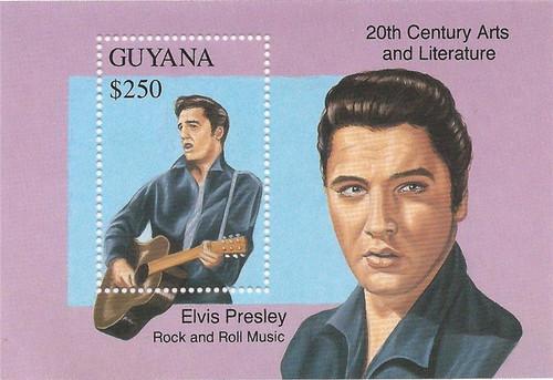 Guyana - 1993 Elvis Presley - Souvenir Sheet - Scott #2685 7C-018
