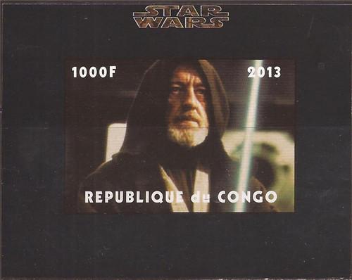 Withdrew 03-15-19-Congo - Star Wars Obi-Wan Kenobi - Imperf Souvenir Sheet - 3A-481