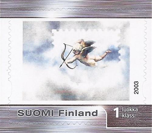 Finland - 2003 Winged Cupid - Stamp - Scott #1194