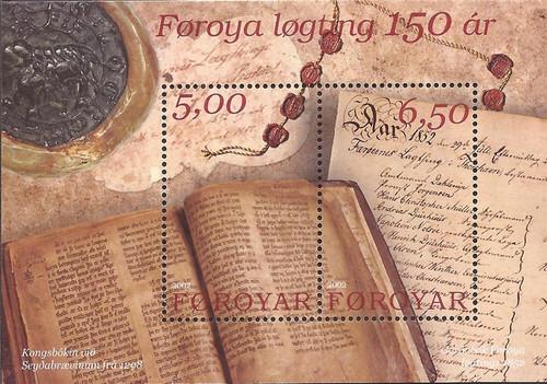 Faroe Islands - 2002 Faroese Representative Council - 2 SS #422