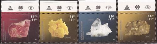 Argentina - 2011 Argentine Minerals - 4 Stamp Set - Scott #B205-8