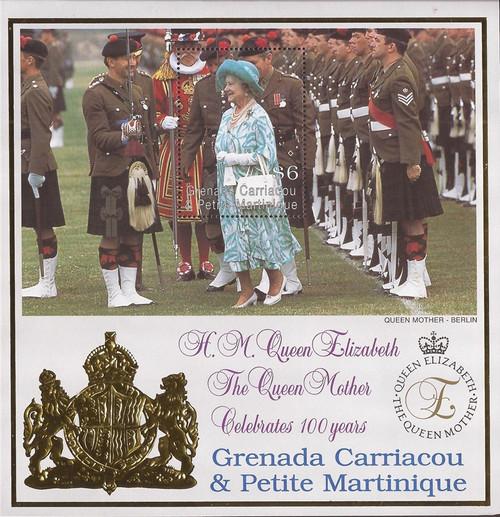 Grenada Grenadines - 1999 Queen Mother 100th Birthday - S/S #2122