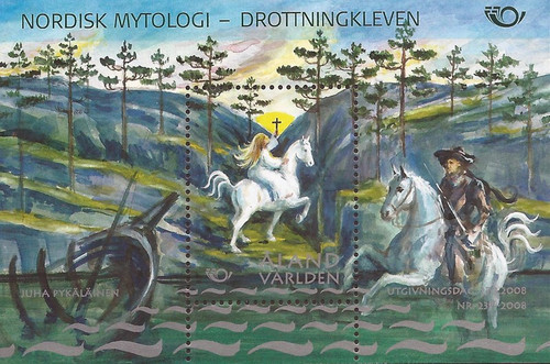 Finland - Aland Islands - 2008 Princess Signhild - 3 Stamp Tryptic #272