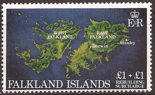 Falkland Islands - 1982 Rebuilding - Semi-Postal Stamp - Scott #B1