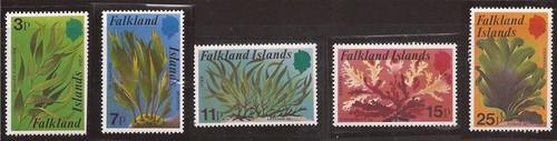 Falkland Islands - 1979 Seaweeds - 5 Stamp Set - Scott #282-6