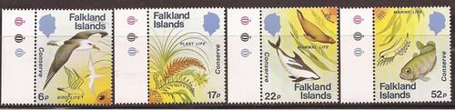 Falkland Islands - 1984 Wildlife Conservation - 4 Stamp Set #412-5