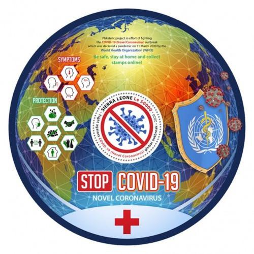 Sierra Leone - 2020 Stop Pandemic - Stamp Souvenir Sheet - SRL200449b
