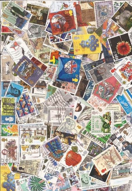 Great Britain - Excellent Collection of 500 Different Stamps