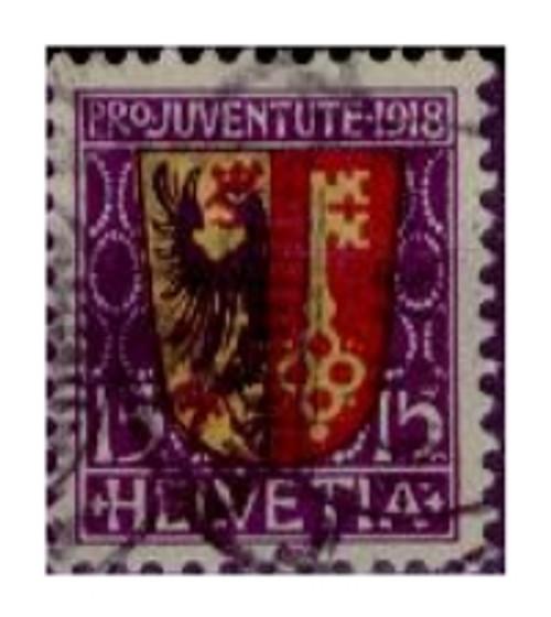 Switzerland B11 F/VF Used