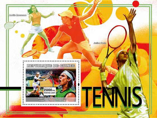 Guinea - Tennis - Mint Stamp Souvenir Sheet - 7B-203