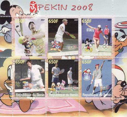 Olympics & Disney - Mint Sheet of 6 - MNH - SV0092
