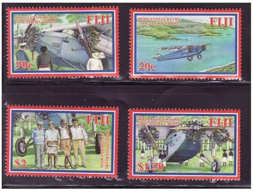 Fiji - Southern Cross - Mint Set of 4 Stamps - FIJ0805