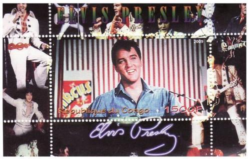 Elvis Presley - Mint Souvenir Sheet MNH - SV0420