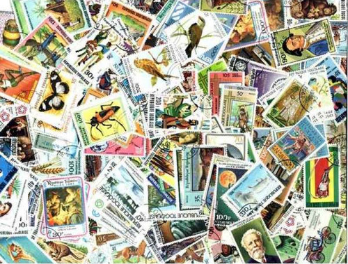 Togo Stamp Collection - 300 Different Stamps