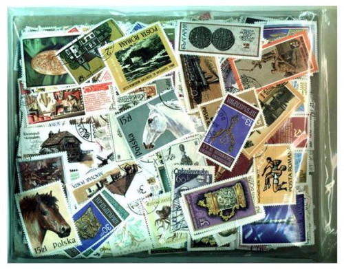 Europe Stamp Collection - 3,000 Different Stamps