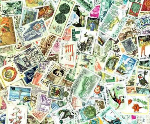 Sensational Europe Stamp Collection 1,000 Different Large Pictorials