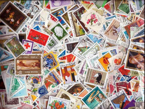 Sensational Europe Stamp Collection - 5,000 Different Stamps