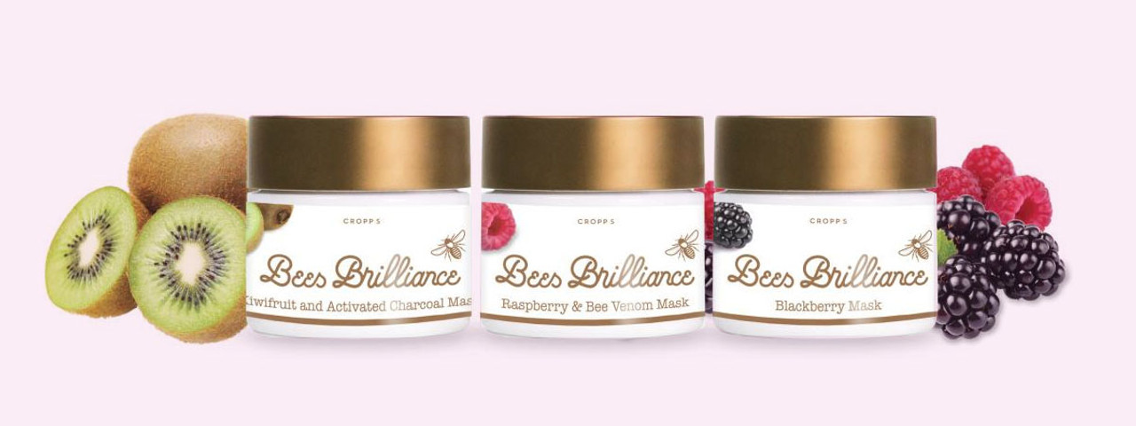 Bees Brilliance Skincare and Face Masks
