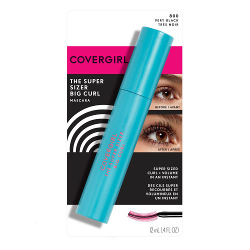 COVERGIRL Super Sizer Big Curl Mascara - 800 Very Black