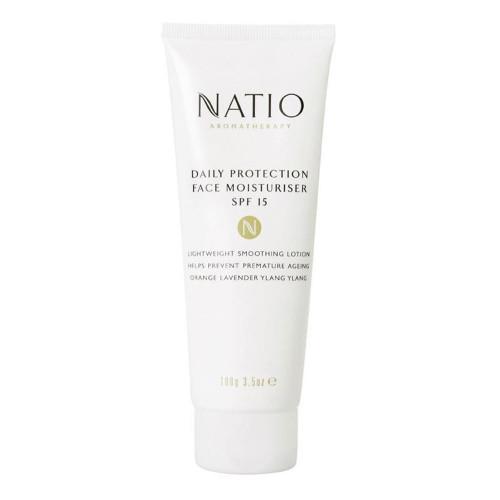 Natio Daily Protection Face Moisturiser SPF15 100g